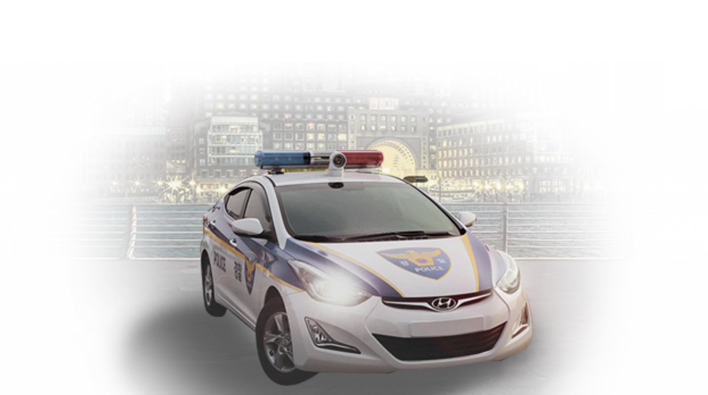 소형112 순찰차량 특장작업