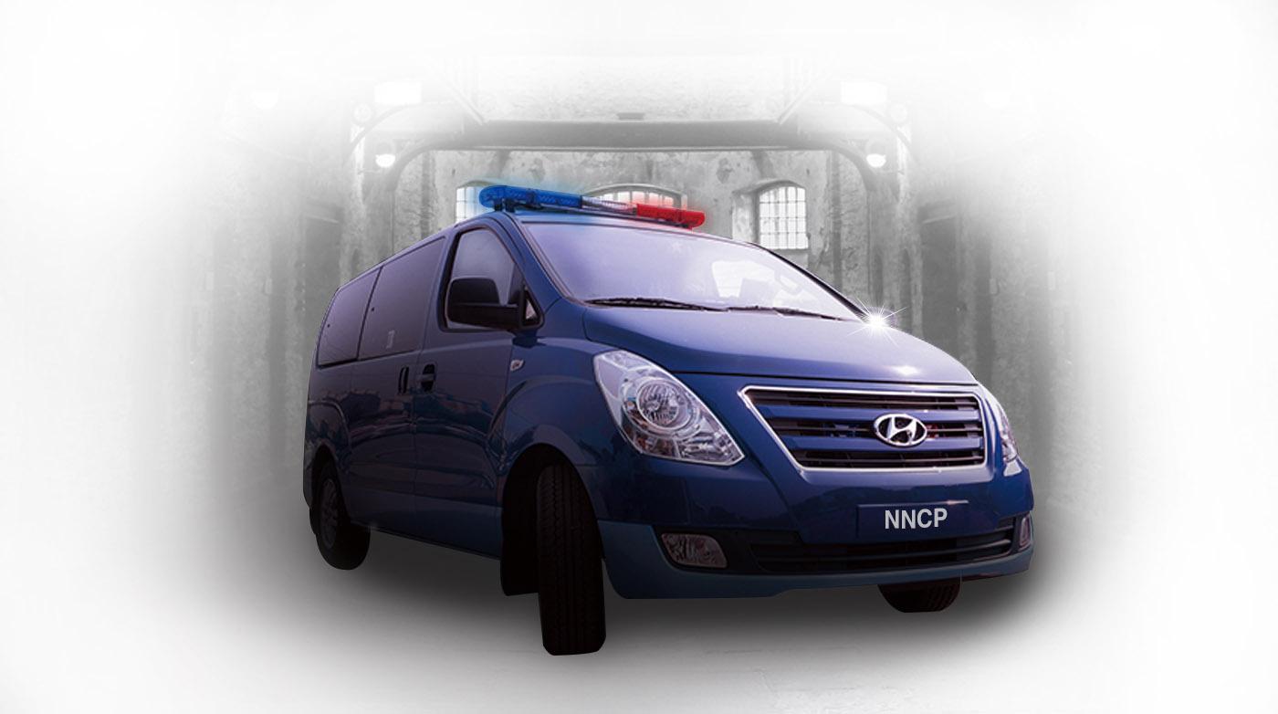법무부 수용자 호송차량 - 소형승합12인승